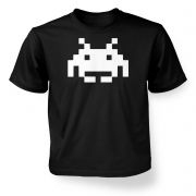 Alien Invader Pixel Art kids' t-shirt