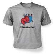 Spider Pig   kids t-shirt