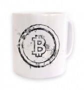 Splatter Effect Bitcoin mug