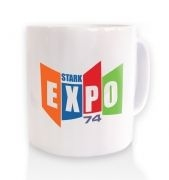 Stark Expo 74 ceramic coffee mug