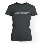 Stark Industries women's fitted t-shirt