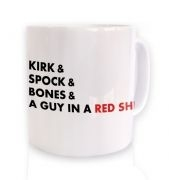 Star Trek Names mug