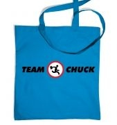 Team Chuck tote bag