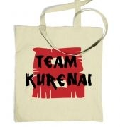 Team Kurenai  tote bag