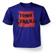 Team Kurenai   kids t-shirt