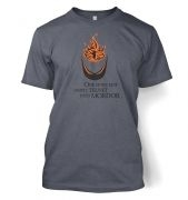 Telnet Into Mordor men's t-shirt