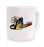 Texas Chainsawyer coffee mug