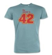 The Answer Is 42  premium t-shirt