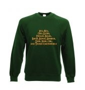 The Dwarves of Lonely Mountain - Crewneck Sweatshirt