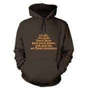 The Dwarves of Lonely Mountain  hoodie