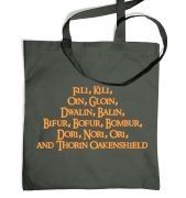 The Dwarves of Lonely Mountain  tote bag