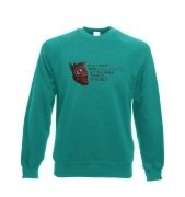 The Heart of Dishonor unisex crewneck sweatshirt