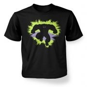 Mr Mean and Green kids t-shirt