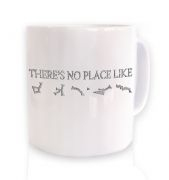 There's no place like Earth mug