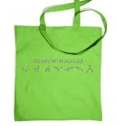 There's no place like Earth tote bag