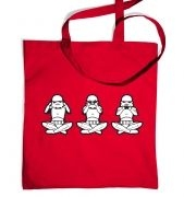 Three Wise Stormtroopers tote bag