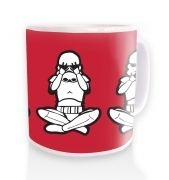 Three Wise Stormtroopers ceramic coffee mug