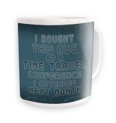 Time Travel Conference mug