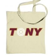 Tony Arc Reactor tote bag
