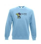 Treasure Goblin crewneck sweatshirt