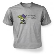 Treasure Goblin kids' t-shirt