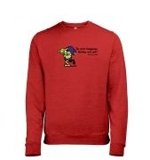 Treasure Goblin men's heather sweatshirt