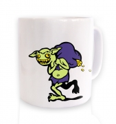 Treasure Goblin ceramic coffee mug