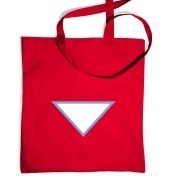 Triangular Power Cell tote bag