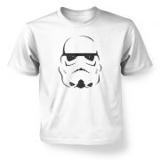 Trooper Helmet Kids' TShirt