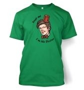 Trust Me I'm The Doctor men's t-shirt