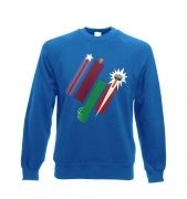 United Colours Of Avengement crewneck sweatshirt