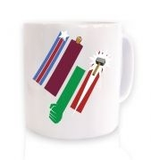 United Colours Of Avengement ceramic coffee mug