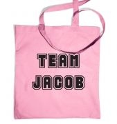 Varsity Style Team Jacob tote bag