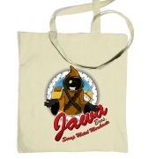 Version 2 Jawa Bros Scrap Metal Merchants tote bag