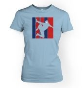 Web Slinger women's fitted t-shirt