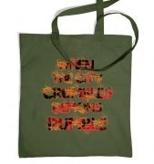 When The City Crumbles tote bag