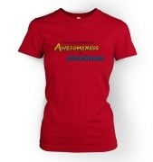 Awesomeness women's t-shirt