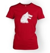 Dire Wolf women's fitted t-shirt