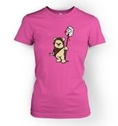 Evil Ewok women's t-shirt