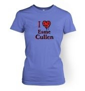 I heart Esme Cullen women's t-shirt