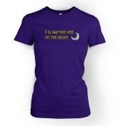 Women's I'll sap the one on the right tshirt