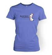 Killer Rabbit Of Caerbannog women's t-shirt