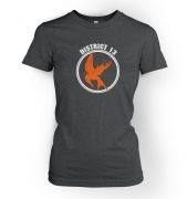 Mockingjay District 13 women's t-shirt