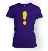Women's quest Exclamation Mark tshirt