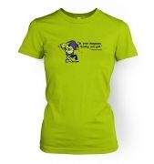 Treasure Goblin women's fitted t-shirt