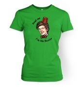 Trust Me I'm The Doctor women's t-shirt