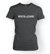 Women's Winter is coming tshirt