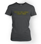 You Can't Spell Damage Without 'Mage' women's fitted t-shirt