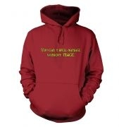 You Can't Spell Damage Without 'Mage' hoodie