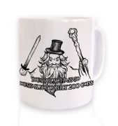 You Shall Not Pass Go mug